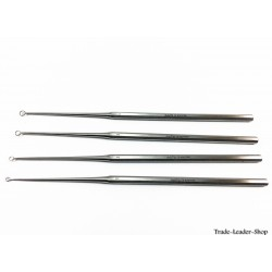 Buck ear curette sharp ENT Surgical loop Otology
