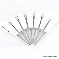 7 Pcs Set white Dental Root Elevators Oral Surgery PDL Luxating Tooth Loosening