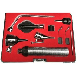 OTOSCOPE SET Otology Specula Mirror Lamp Speculum ENT