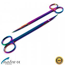 Kelly scissors straight / Curved pointed dental dentist surgical OP