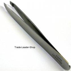 Set 2 Tweezers Hair Plucked Tweezers Splinter Tweezers Eyebrows Stainless Steel