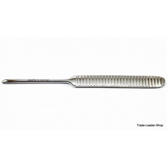 Williger Elevator bent 16 cm 4 mm Raspatory Dental Surgery instrument periosteal