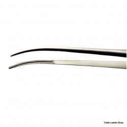 DeBakey Dissecting Forceps Tweezer curved 24 cm Surgery Surgical tissue