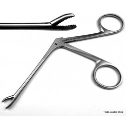 Hartmann Weingartner Ear forceps shaft 3.3'' pediatric ENT Alligator polypus