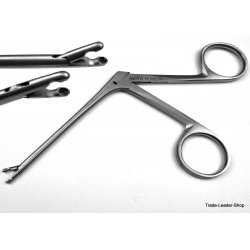 Hartmann Ear forceps Shaft 3.1'' Ø 3 mm pediatric ENT surgical Alligator polypus