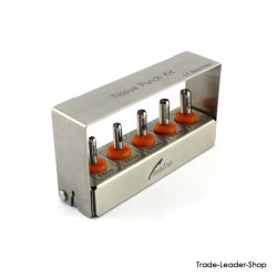 Dental Implant TISSUE PUNCH KIT 5 Pcs with FREE Bur Holder External Irrigation CE NATRA Germany