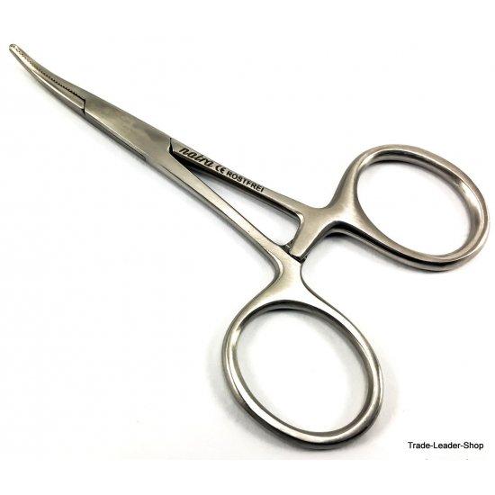 Artery Hemostat Mosquito Forceps curved Disgorger 9 cm surgical Dental NATRA