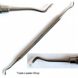 3x Set Dental Excavators Scaler Spoon Instrument Tartar Scratches NATRA Germany