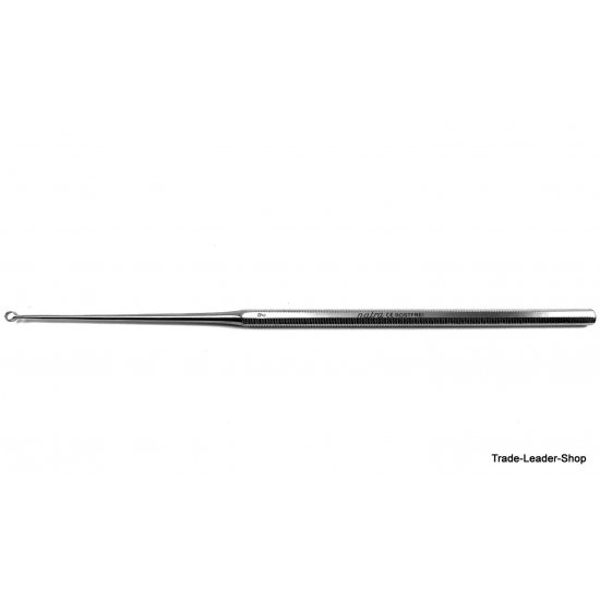 Buck ear curette sharp straight Fig. 2 ENT 16 cm Surgical loop Otology surgery