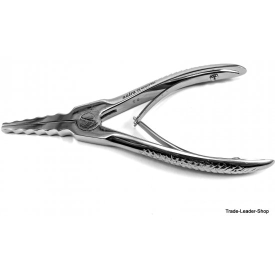 Body Piercing Tattoo Ring Opener Forceps Piercing Opener 5 notched stainless steel CE 15 cm
