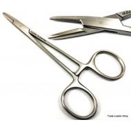 Baumgartner Needle Holder straight 5.5'' 14 cm suture surgical forceps plier