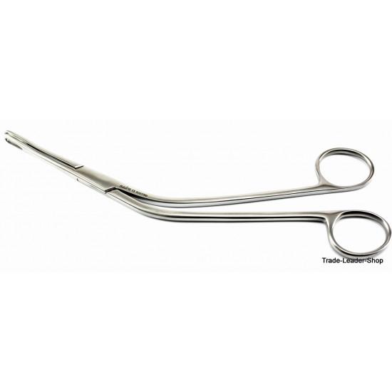 Dennis Brown Intestinal Forceps 23 cm pediatric clamp anastomosis curved NATRA