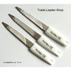 Set of 3 Metal Nail File 10.5 cm 4