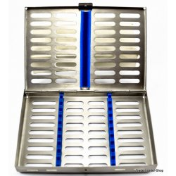 Sterilisation Cassette Rack Tray Surgical Dental 10 instruments NATRA Germany
