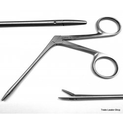 Hartmann Ear forceps pediatric ENT surgical Alligator shaft polypus