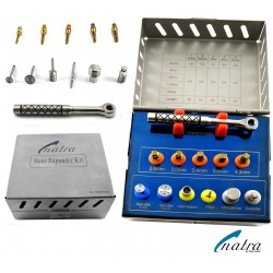Dental Implant Bone EXPANDER KIT 12 Pcs with SAW DISKS CE NATRA Germany
