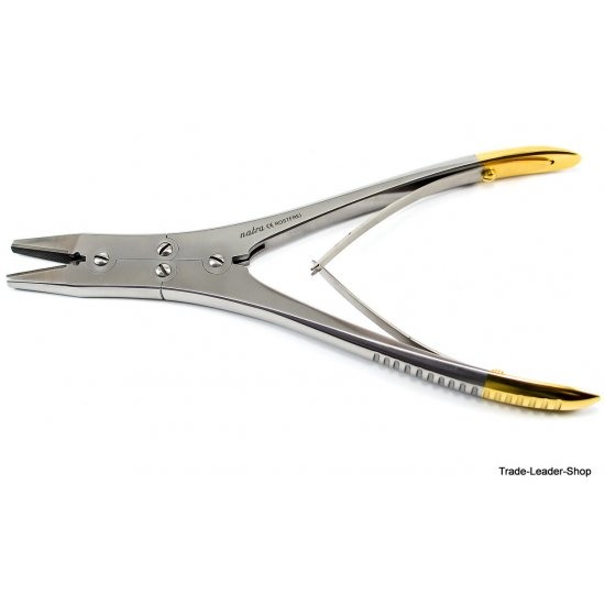 TC Extracting Forceps wire holding pliers action straight 18 cm surgical surgery