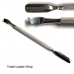 Cuticle Pusher, Gouges, Nail, Spatula, Pro Pusher NATRA German Quality