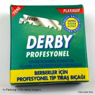 DERBY PROFESSIONAL Razor half Blades replaceable for Razor Jilet