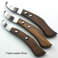 loop Hoof Knife Wooden handle Horse Claws Knives Equine Veterinary NATRA