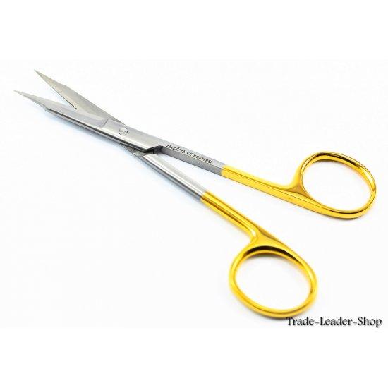 Goldman Fox Scissors TC straight / Curved tip 13 cm