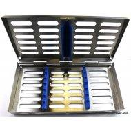 Sterilisation Cassette Rack Tray Surgical Dental 7 instruments NATRA Germany